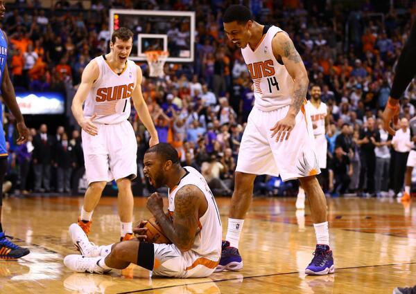 Phoenix Suns, NBA, Playoffs, Goran Dragic, Gerald Green