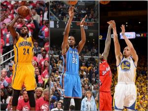 NBA, Playoffs, Warriors, Pacers, Thunder