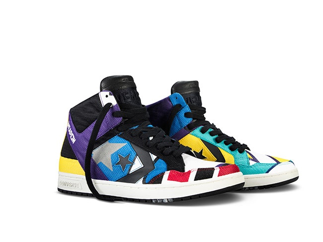 converse cons weapon patchwork pair