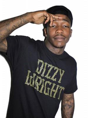 dizzy barbed tshirt