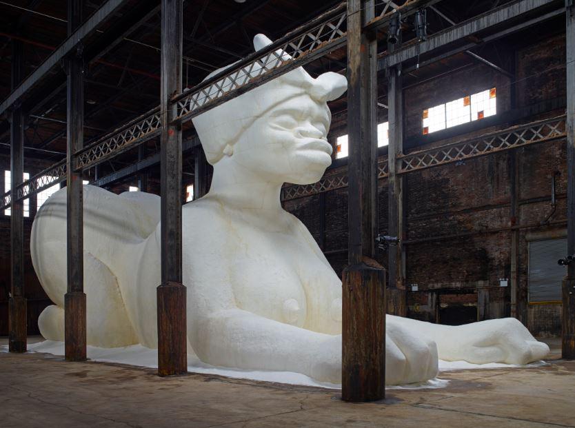 domino sugar factory, williamsburg, kara walker, kara walker domino,