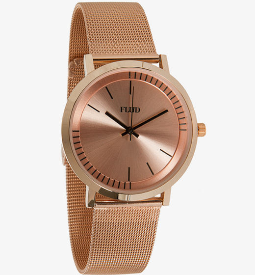 flud watches, rose gold watch, flud rose gold watch, accessories, her source vices, the source magazine, fashion, timepiece