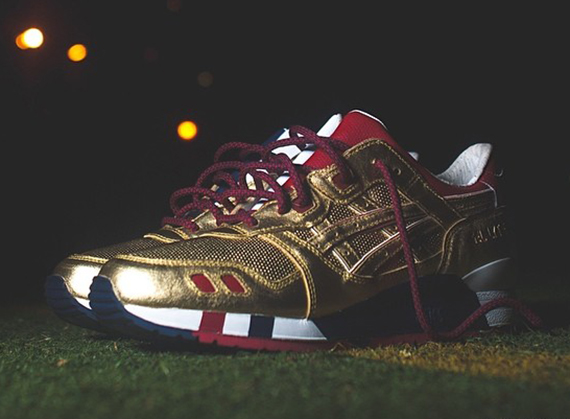 low priced 41e1d 87b07 Sneaker Of The Day: Ronnie Fieg x Asics Gel Lyte III Kith ...