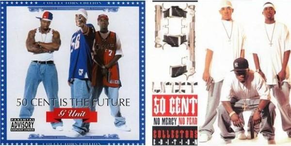 50 Cent, G-Unit, 50 cent throwback mixtape, 50 cent unit mixtape, 50 Cent No Mercy No Fear,