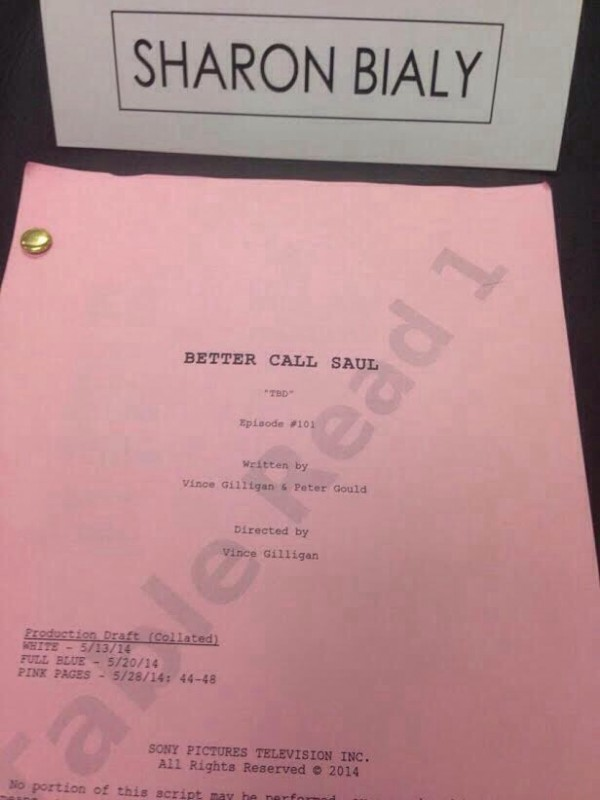 Better Call Saul Script