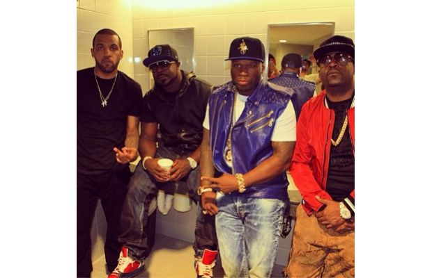50 cent g-unit reunion first show webster hall june 8th
