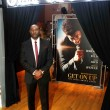 Morris Chestnut at the GET ON UP Exhibit