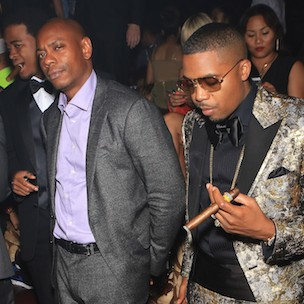 nasthe roots and dj premier join dave chappelle at radio