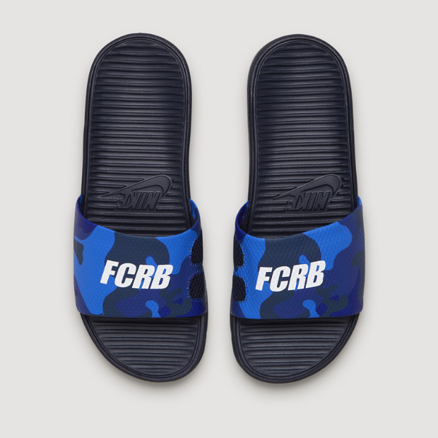 hot sale online e9ed5 b1ceb HER SOURCE VICES | Nike F.C. SolarSoft Slip-Ons | The Source