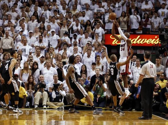 Ray Allen, Game 6, NBA Finals, Heat, Spurs