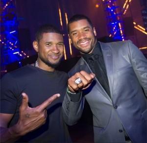 Russell Wilson x Usher