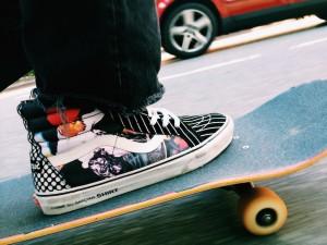 Supreme Vans, Supreme x Comme Des Garçons, Vans, sneakers, her source vices, fashion, skateboard chic,