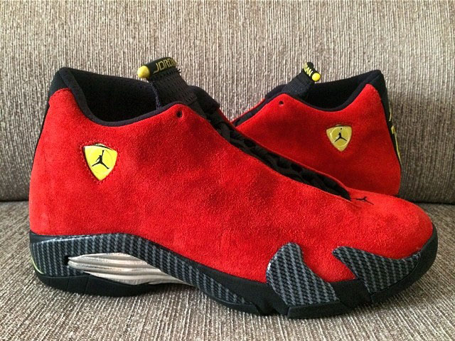 wholesale dealer b7484 6237d air-jordan-14-retro-ferrari-red-suede-2