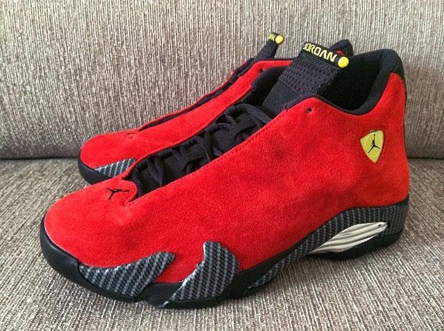 The Source Sneaker Of The Day Air Jordan 14 Retro Ferrari