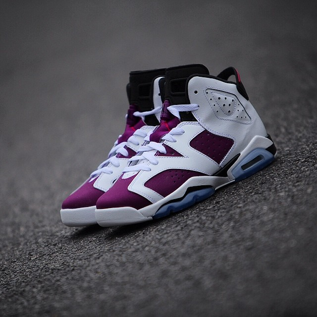 air jordan vi  grape