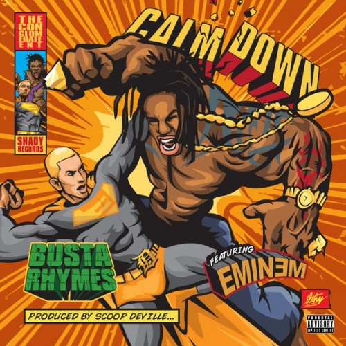 Eminem Busta Rhymes calm down full song cdq download stream soundcloud audio mack