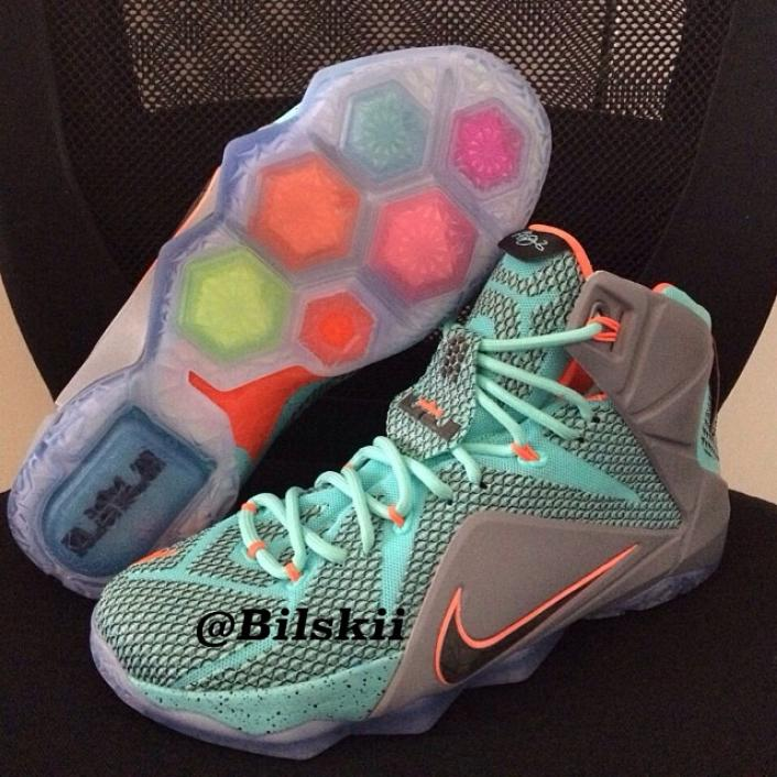 huge selection of 8b6a4 7c785 More Images Of The Nike LeBron 12 Have Been Released | The ...