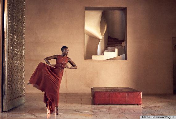 Lupita Nyongo, Vogue, cover shoot