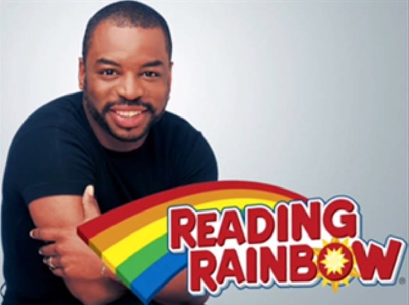 reading rainbow premiered on june   in the first episode tight times host levar burton shows a friend how a library is a great place to have fun on the cheap
