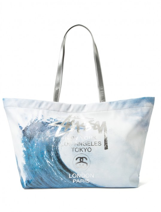 stussy, stussy women, stussy tote, wave rider tote bag, her source vices,