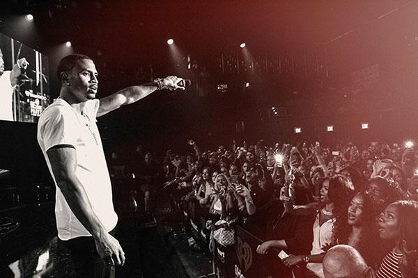 Trey songz performs at his iheartradio trigga album release