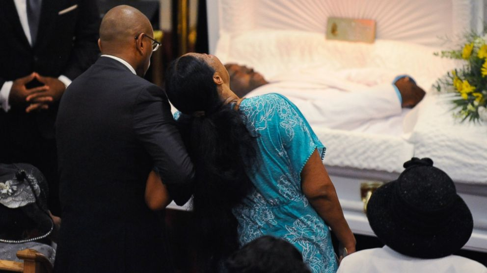 AP Eric Garner funeral bc