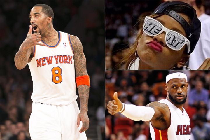 JR, Rihanna, LeBron