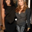 Kelly Rowland L and Tina Knowles at Carmelo Anthony Kehinde Wiley Dinner Hosted by GREY GOOSE