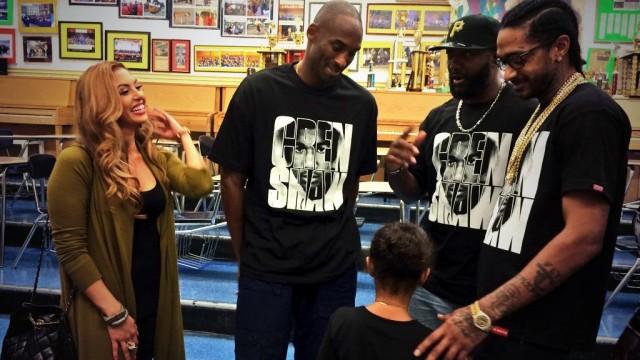 Kobe x Vanessa x NIpsey x Trayvon dad
