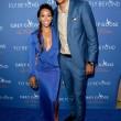 Matt Barnes R and Gloria Govan at Carmelo Anthony Kehinde Wiley Dinner Hosted by GREY GOOSE