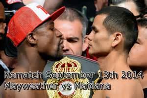 Mayweather vs Maidana