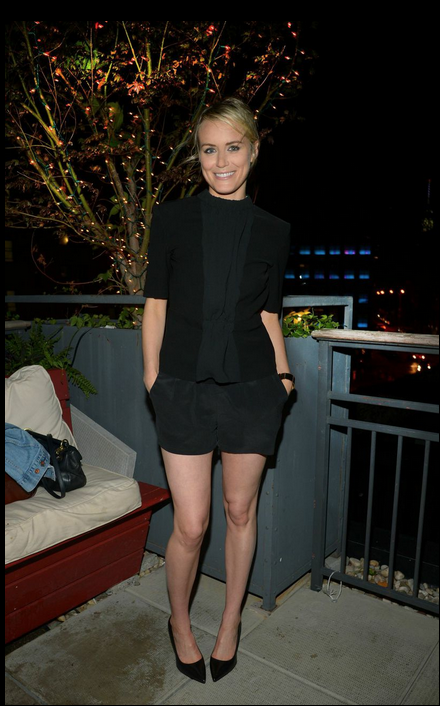 Taylor Schilling 30th Birthday at CATCH Roof NYC