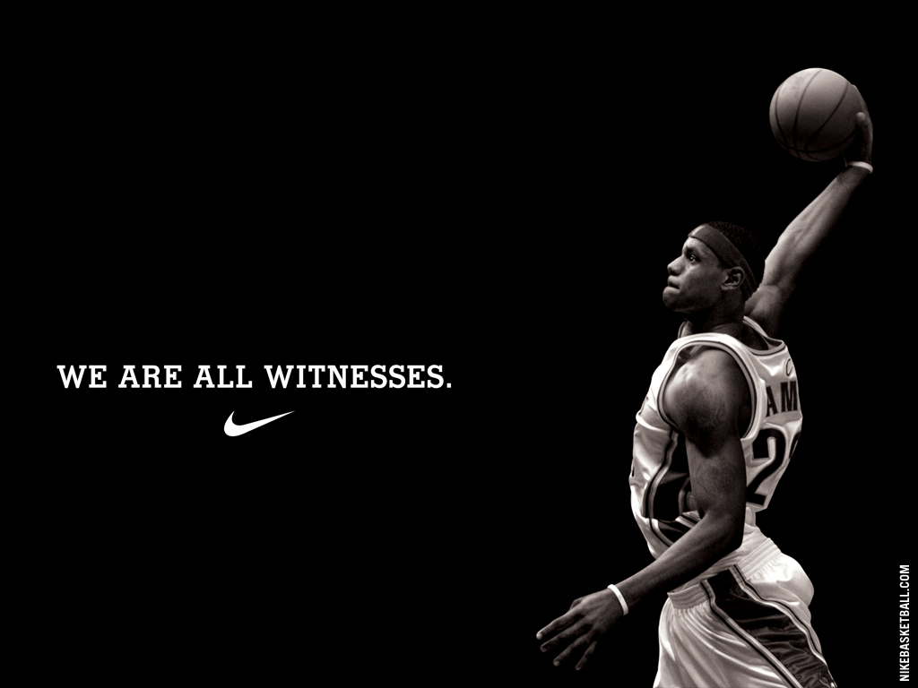 We are all witnesses lebron james