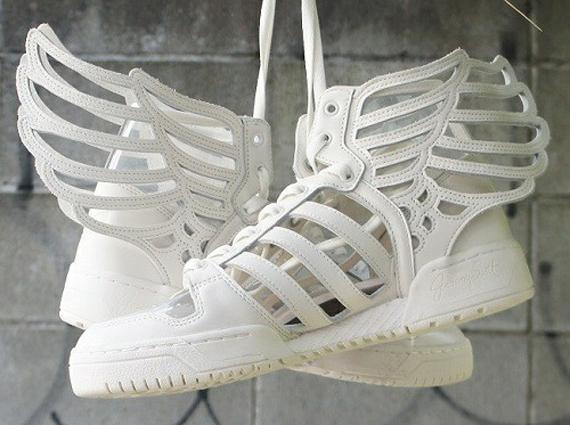 jeremy scott adidas originals wings  cut out