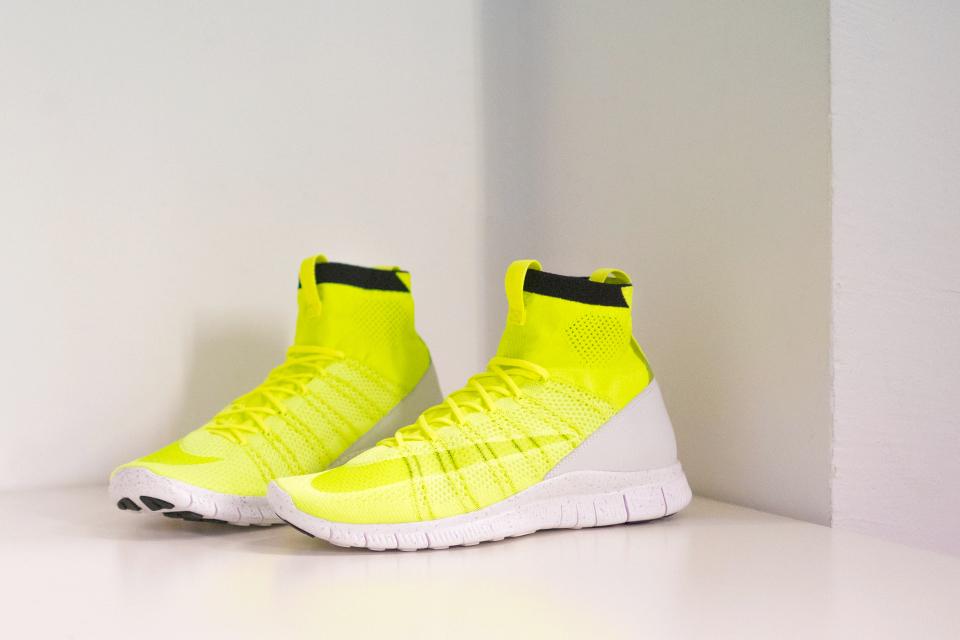"san francisco d8509 42da0 Sneaker Alert  Nike Free Mercurial Superfly HTM ""Volt"""
