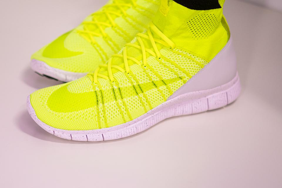 """b501def87 Sneaker Alert  Nike Free Mercurial Superfly HTM """"Volt"""""""