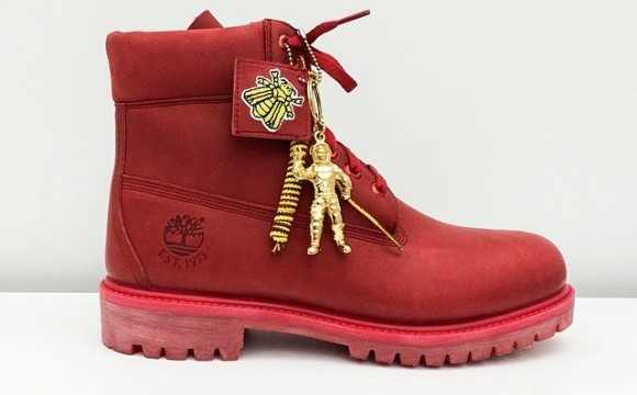 Pharrell S Red Timbs Are Finally Dropping The Source