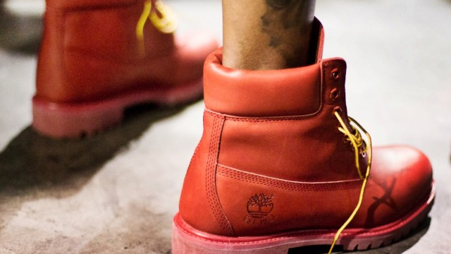 Pharrell's Red Timbs Are Finally Dropping | The Source