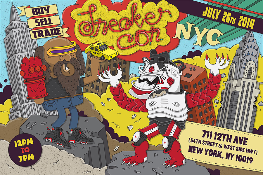 sneaker con new york july