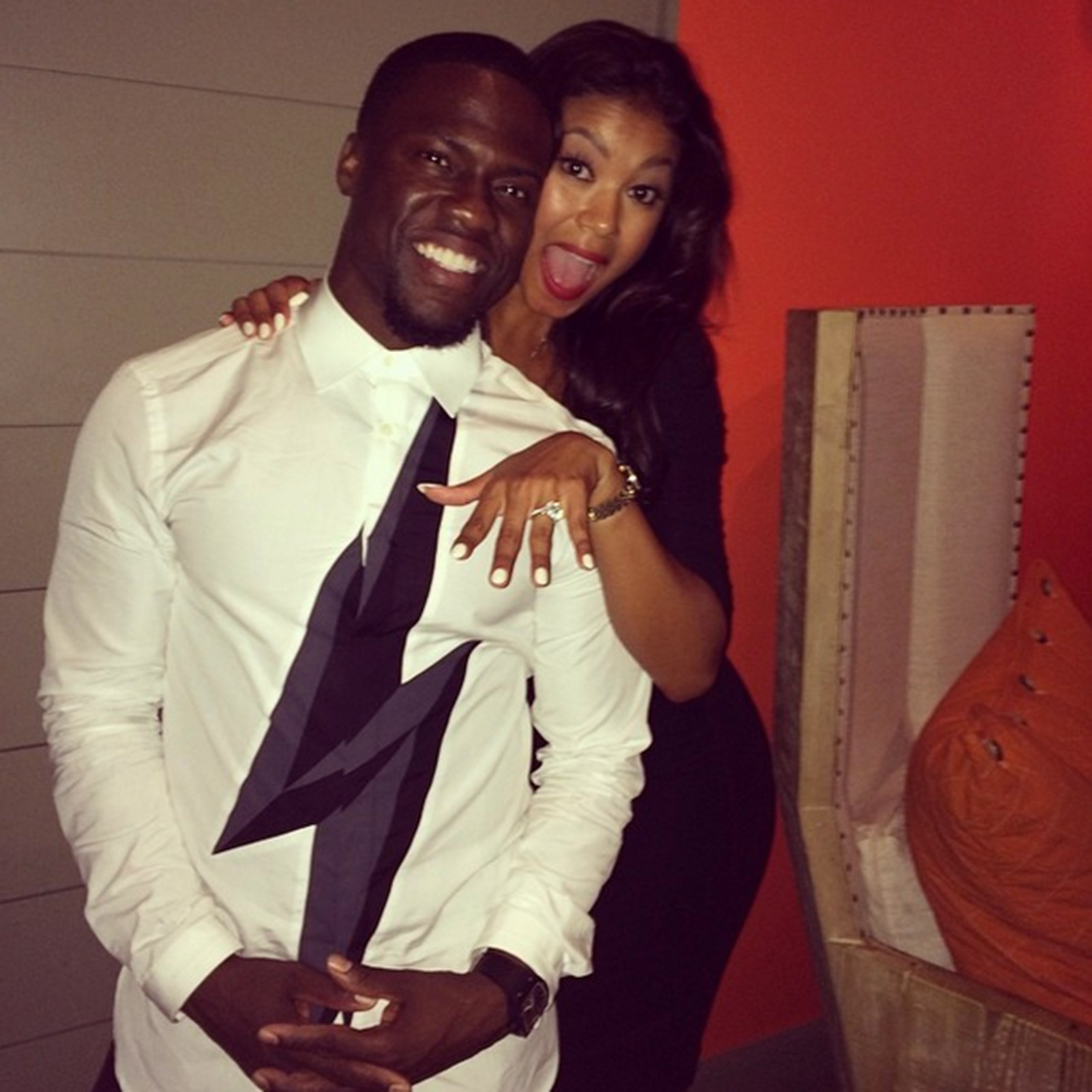 kevin hart engaged zoom