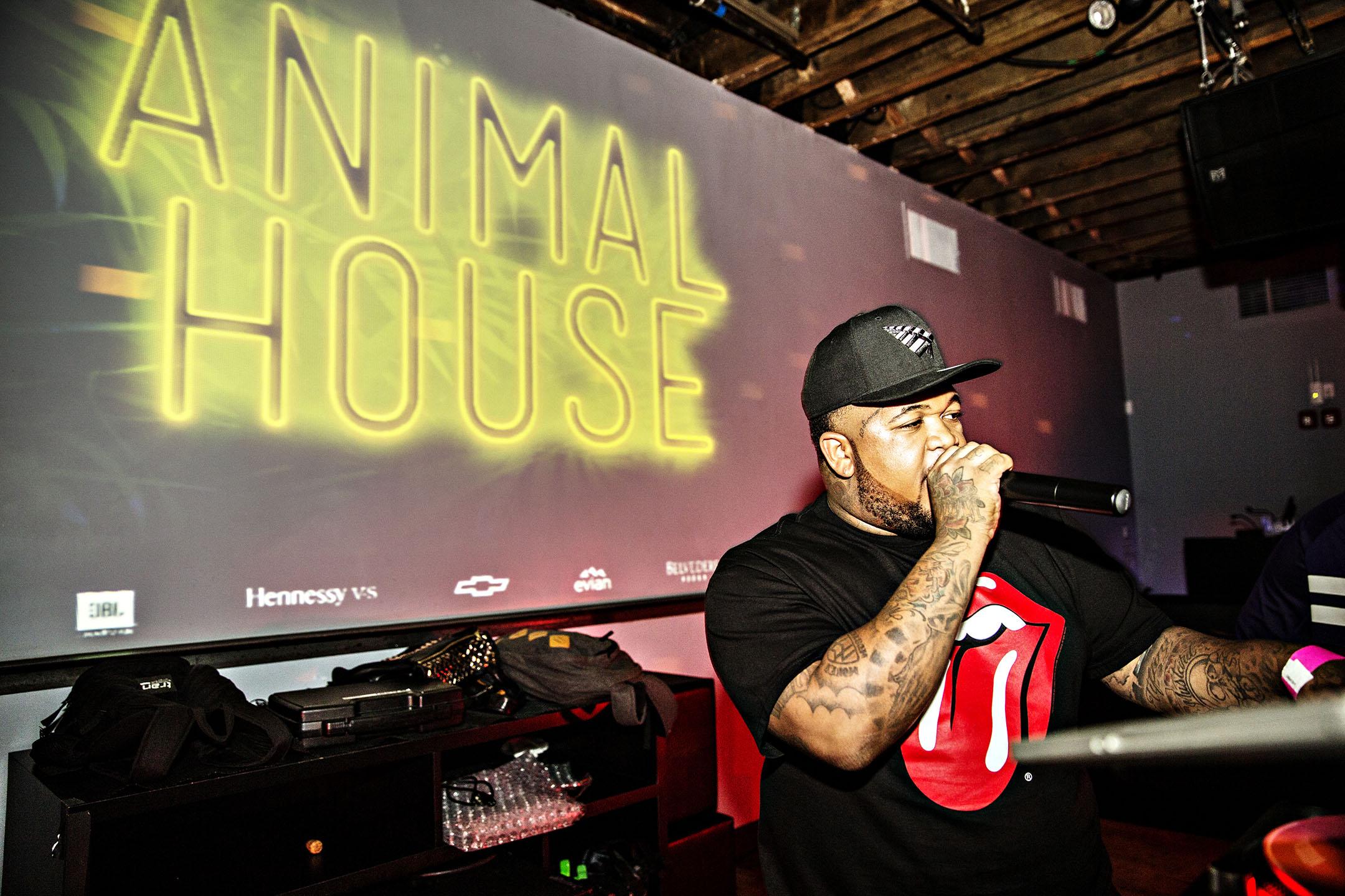 DJ Mustard Spinning at Animal House_1