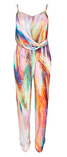 MULTICOLOURED ABSTRACT PRINT JUMPSUIT, river island jumpsuit, river island MULTICOLOURED ABSTRACT PRINT JUMPSUIT, her source vices, the source,