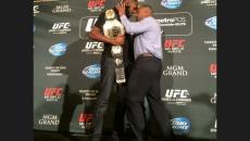 Jon jones daniel cormier fight brawl press conference las vegas ufc 178