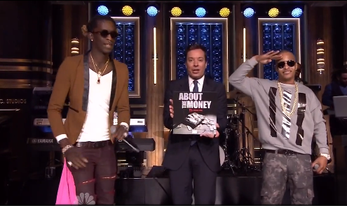 Young Thugt T.I. Tonight Show Jimmy Fallon national tv debut