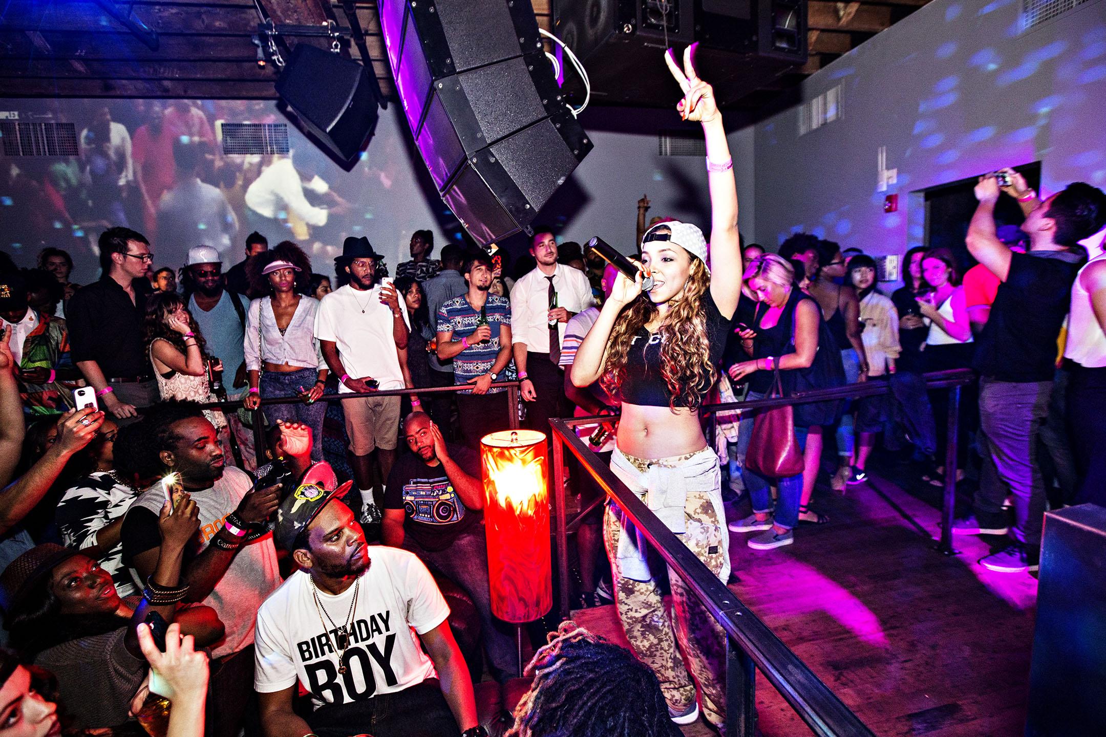 Tinashe Performing at Animal House_3