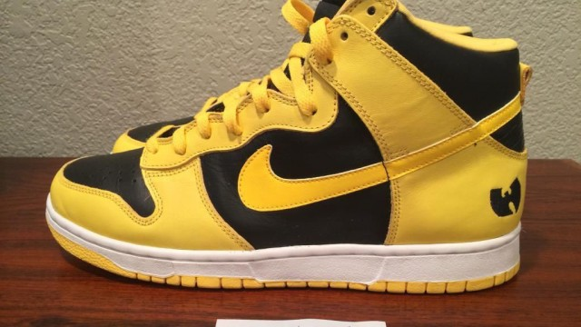 nouvelle beige quilibre homme - A Rare Pair Of Wu-Tang Clan Nike Dunk Highs Are Available On Ebay ...