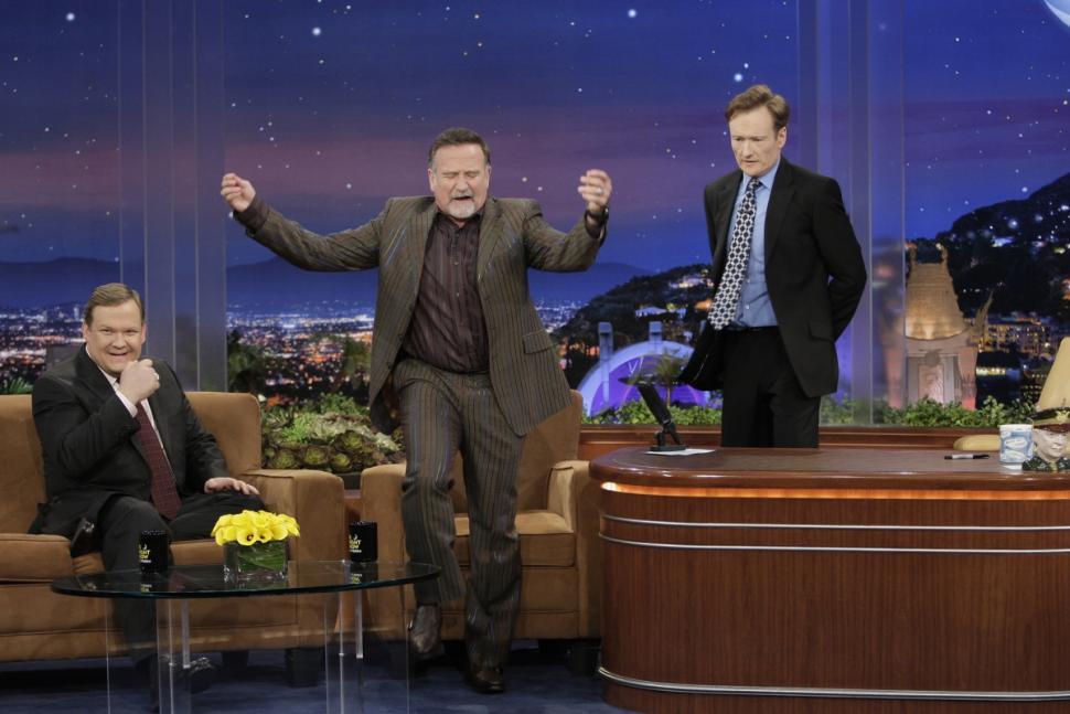 Conan obrien robin williams