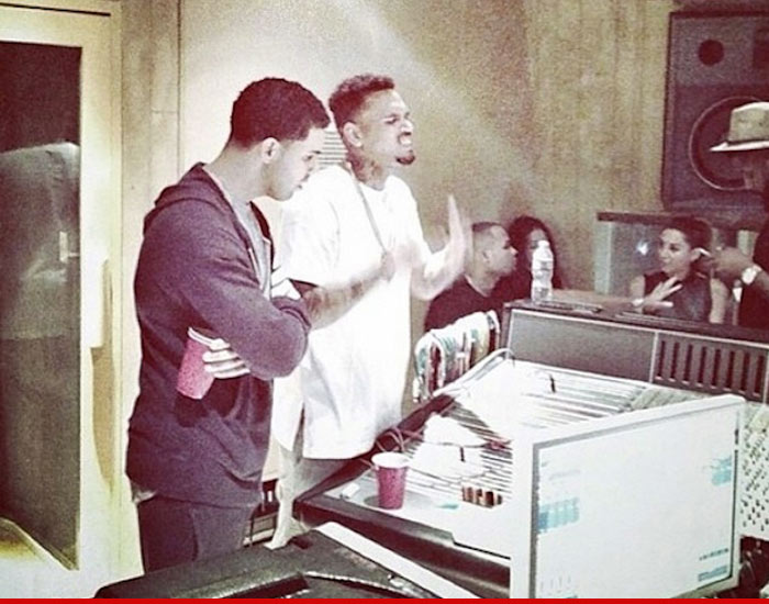 chris brown talks to sway reconcilin with drake beef squash working together