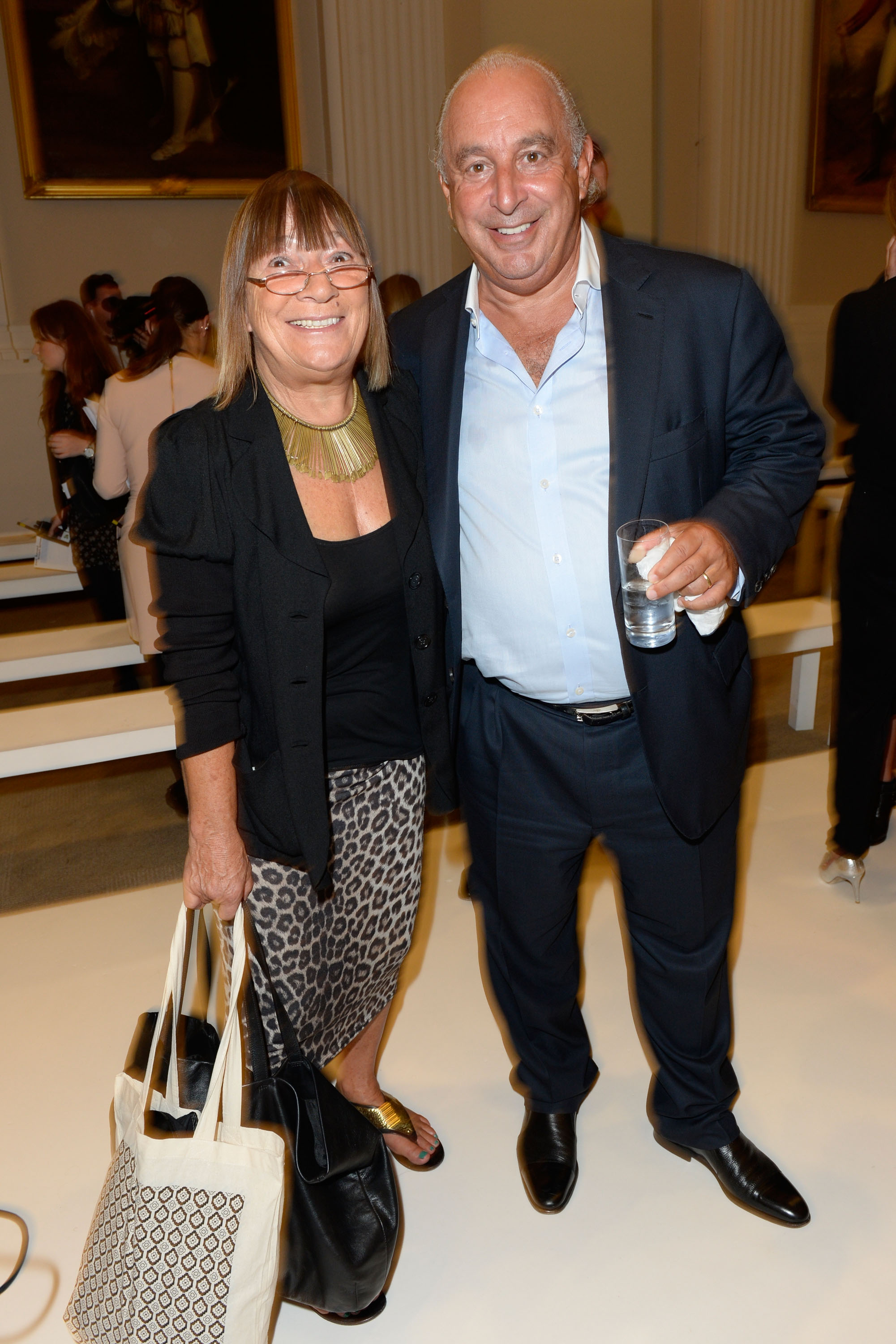 HILARY ALEXANDER AND PHILLIP GREEN THE DESIGN COLLECTIVE FOR EVANS