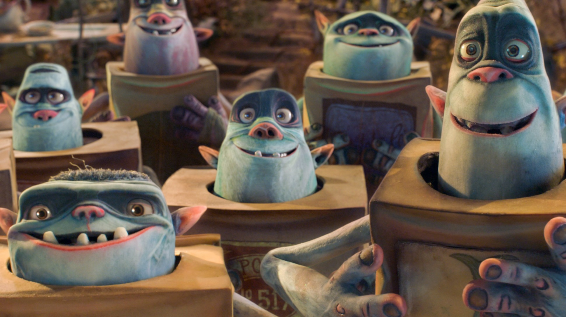 Film Review The Boxtrolls Featuring The Voices Of Ben